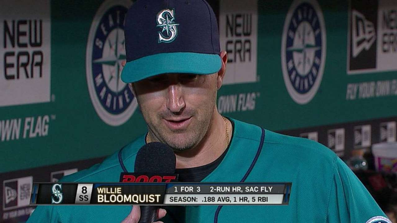 Bloomquist earning increased time at shortstop