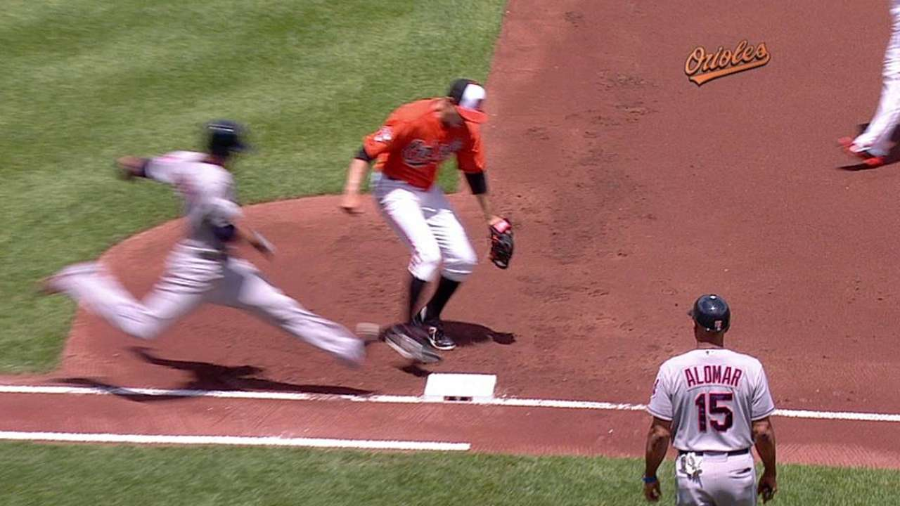 O's challenge nets Ubaldo third out of first inning