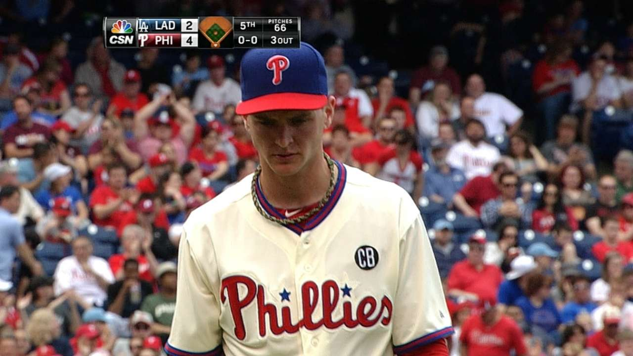 Buchanan delivers for Phils to win MLB debut