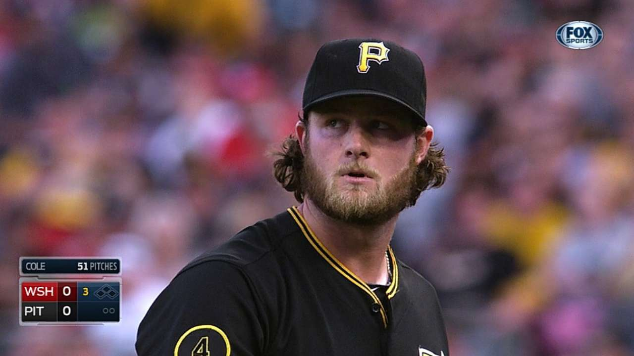 Pirates pleased with Cole's first rehab start