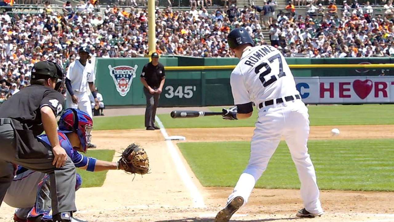 Romine frustrated over bunt attempt