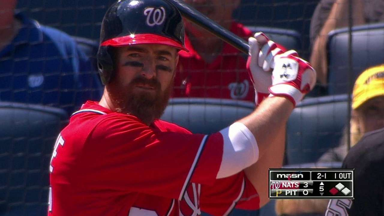 LaRoche comes off DL, in Nats' lineup
