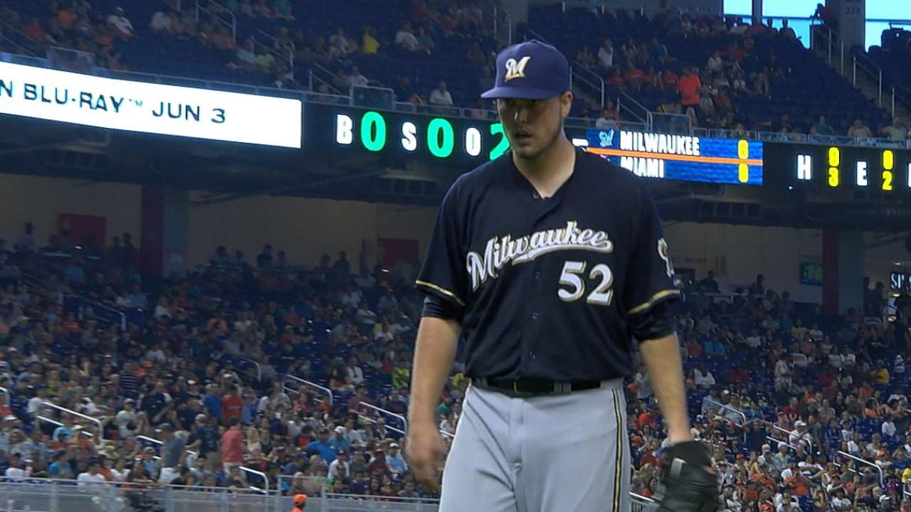 Brewers mull plans for Nelson at Triple-A