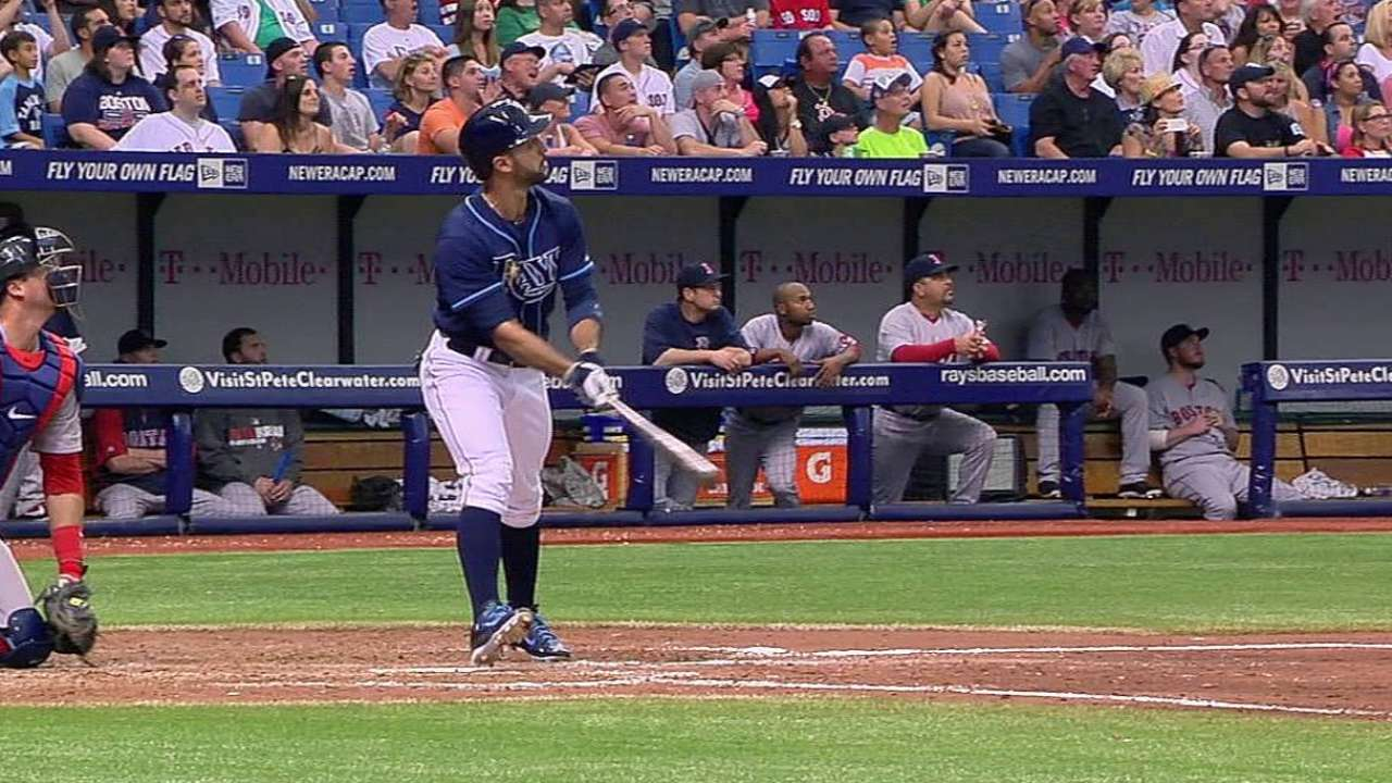 Rays sweep Red Sox on Rodriguez's pinch-hit HR