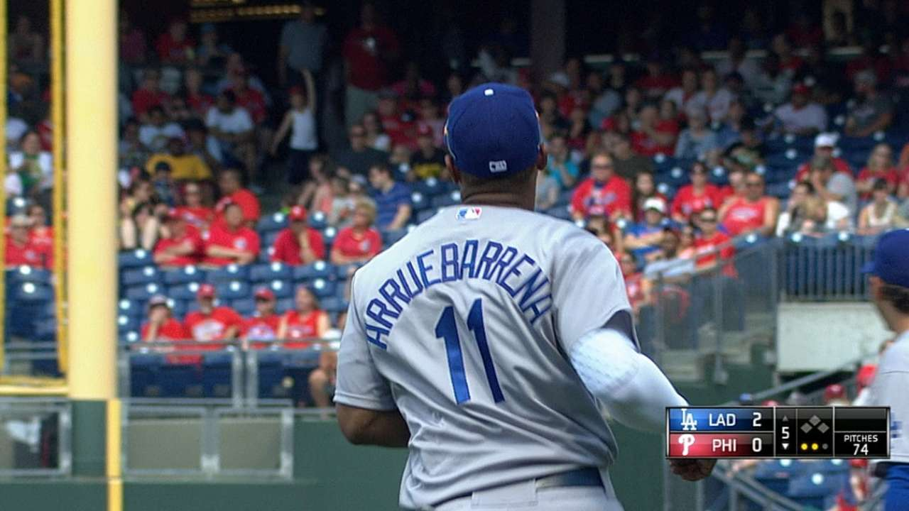 Dodgers ponder next move for Arruebarrena