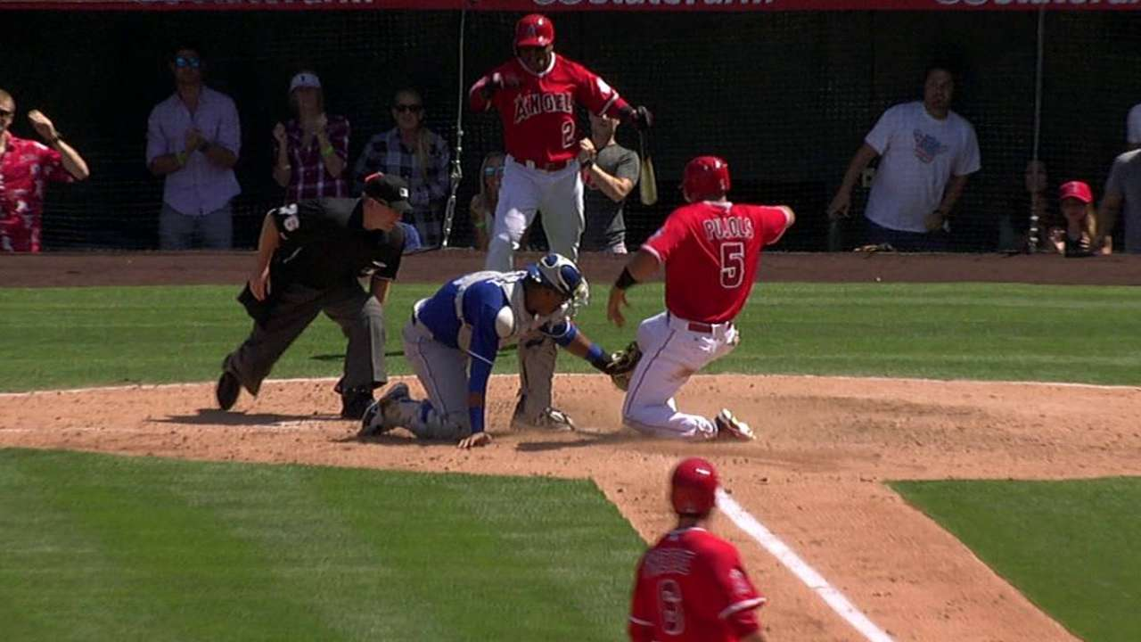 Yost, Scioscia go 0-for-2 with challenges in finale