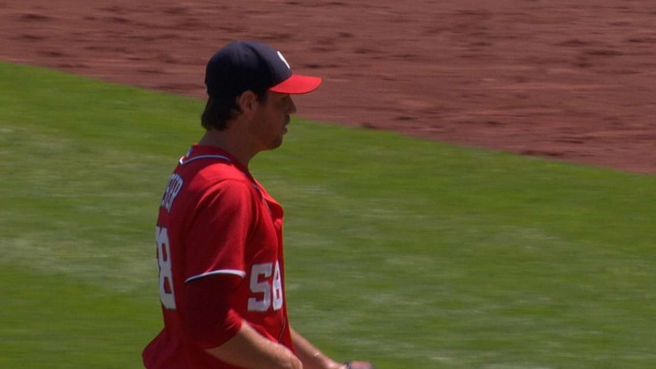 Bats come alive to back Fister's strong outing