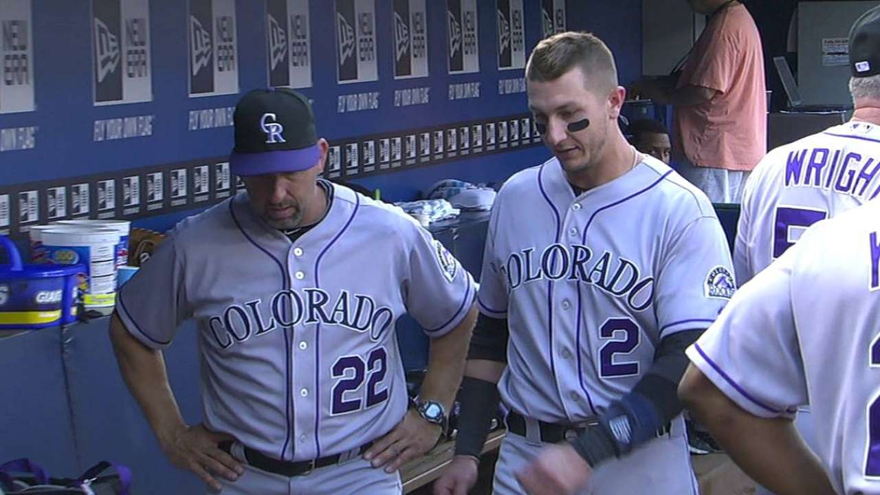 Tulo OK after hurting ankle on backswing, exiting early
