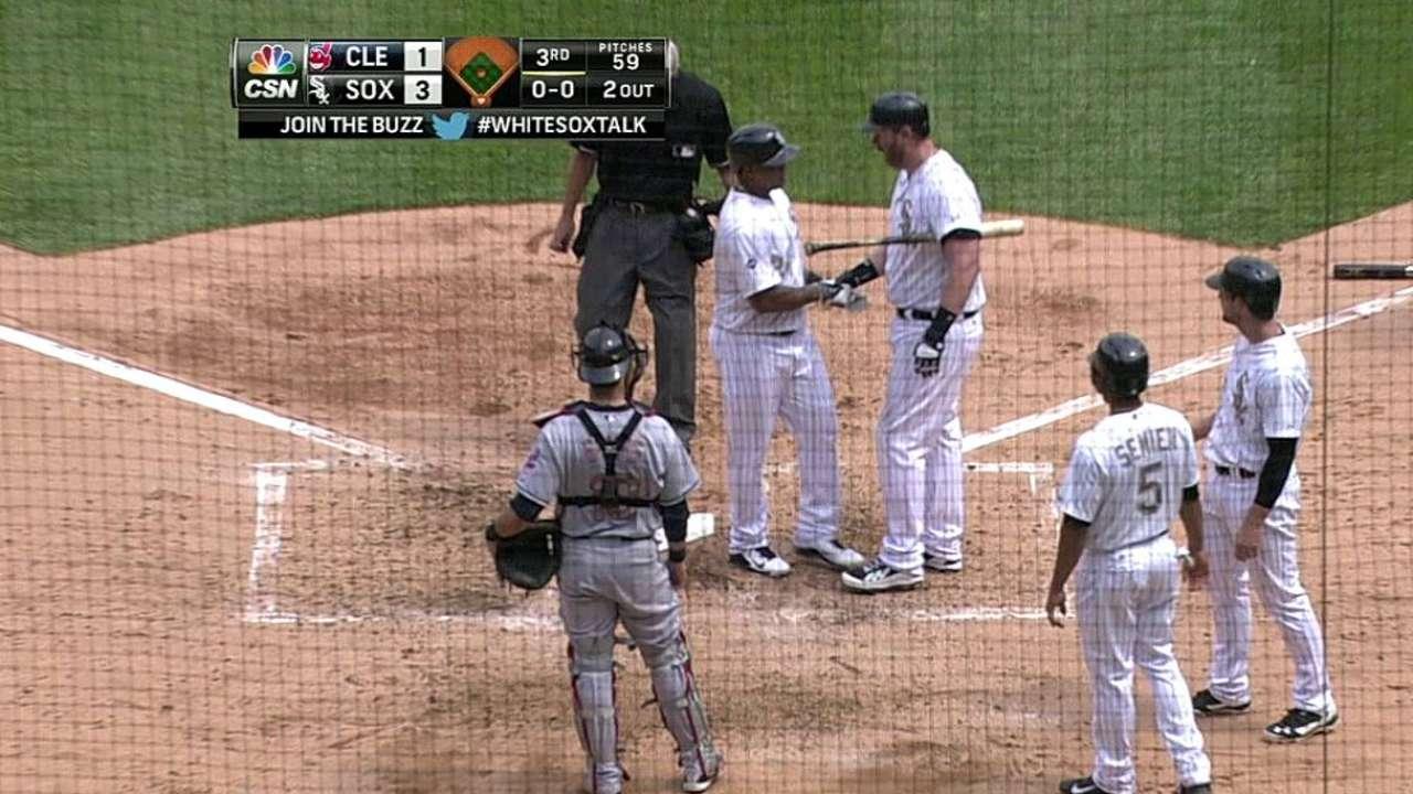 Quintana, Viciedo impulsan a White Sox vs. Indios