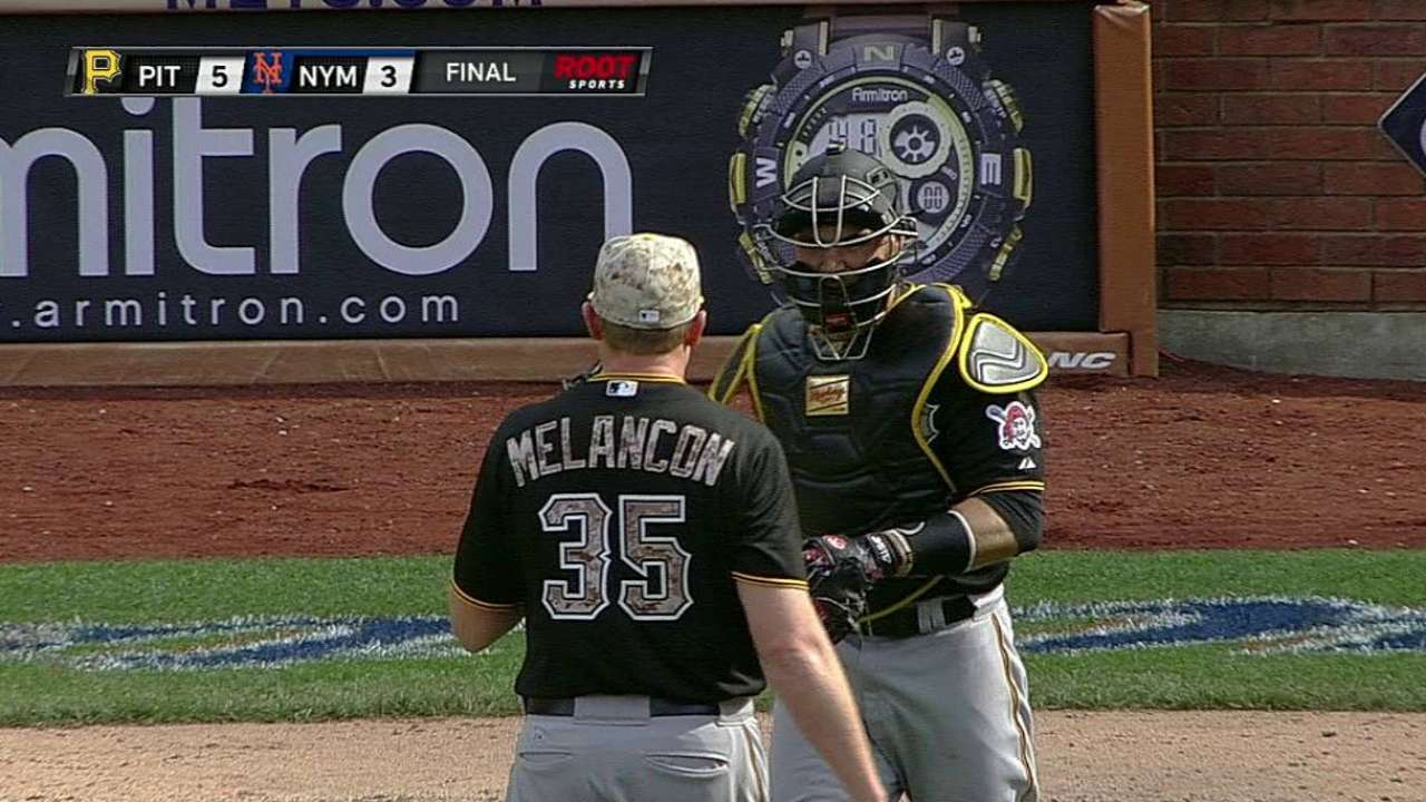 Pirates replace Grilli with Melancon at closer