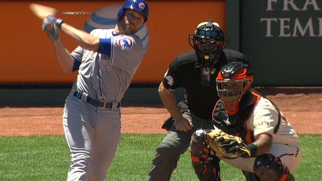 Schierholtz feels he's making progress with bat