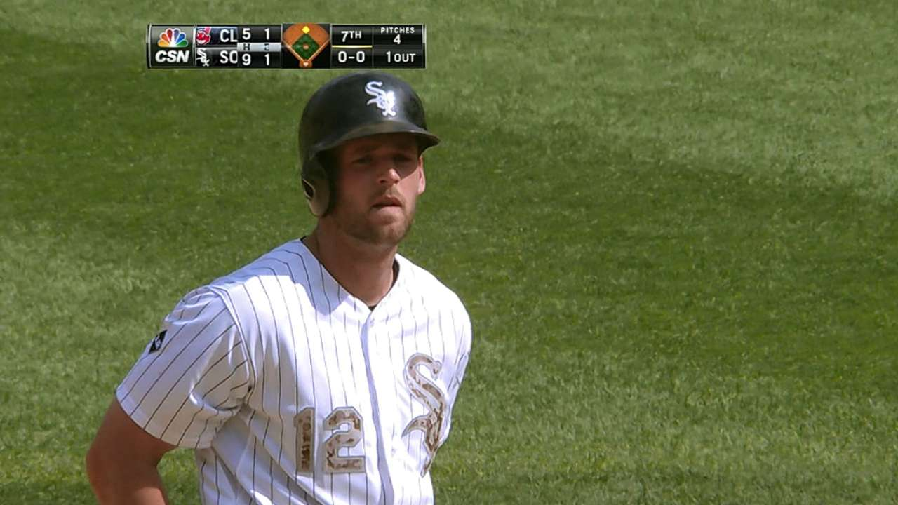 Gillaspie gaining consistency at the plate
