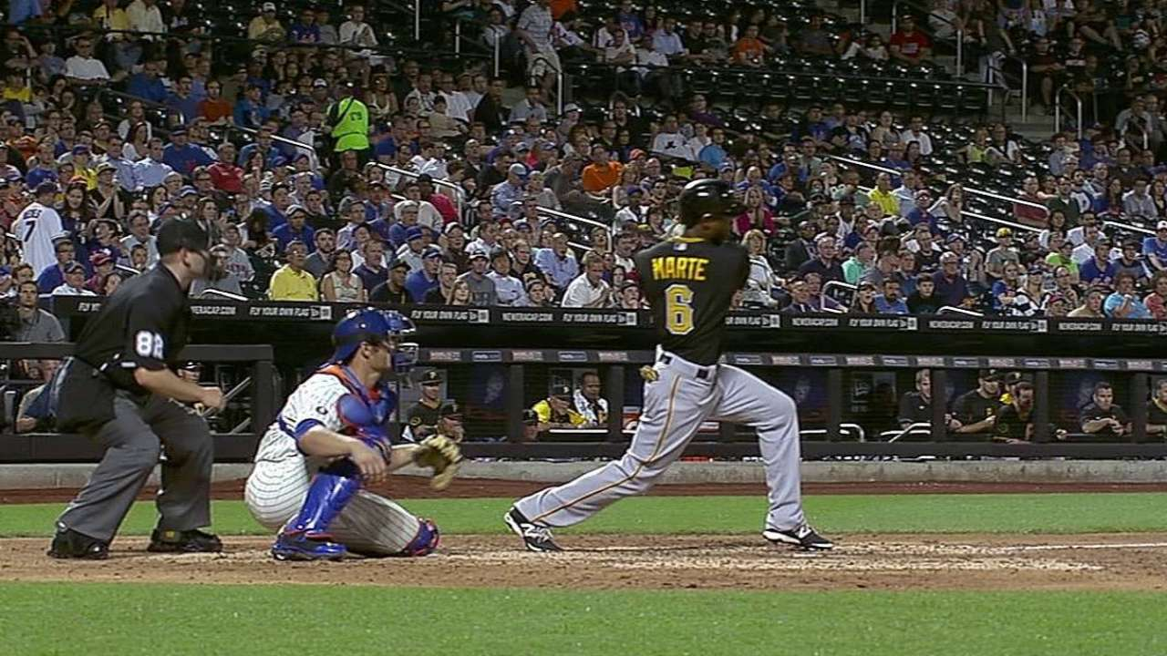 Hurdle remains confident with Marte amid hitting woes