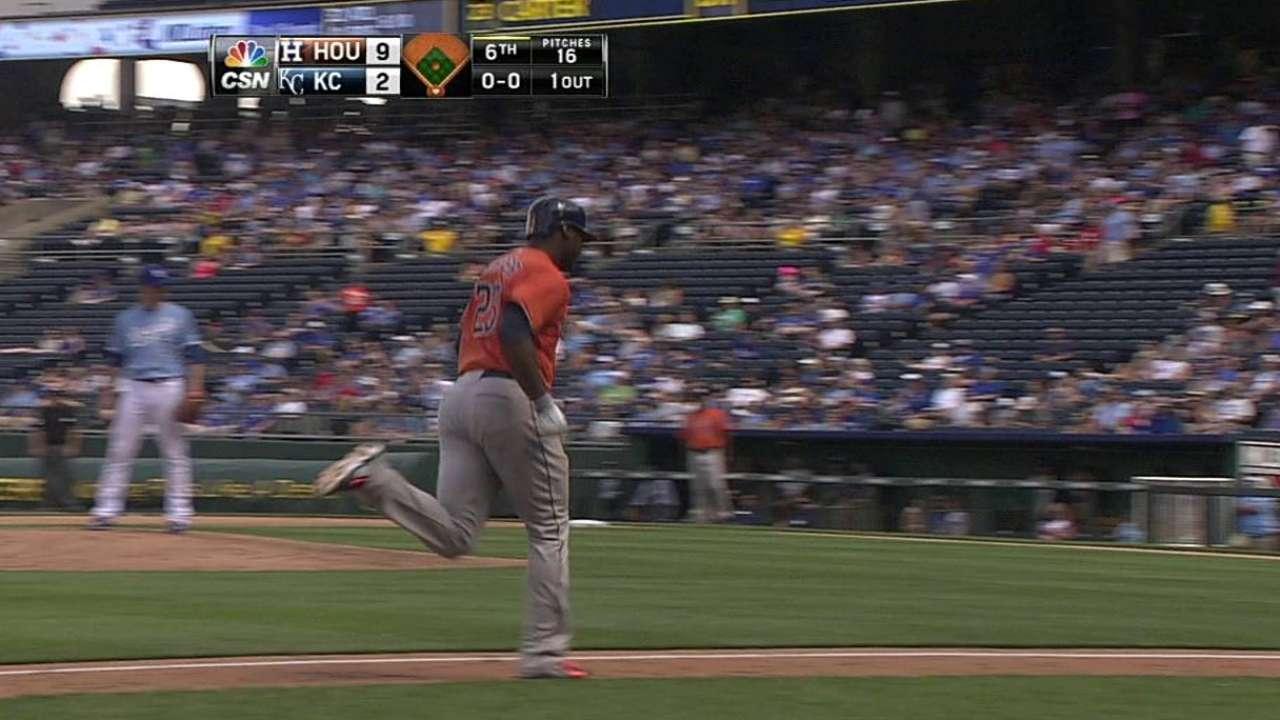 Astros sacan la artillería para ganar su 5to al hilo