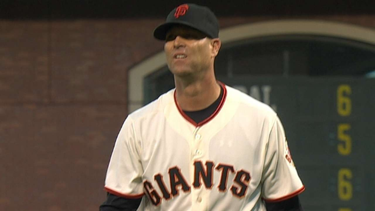 Giants' rotation biggest hurdle for Dodgers