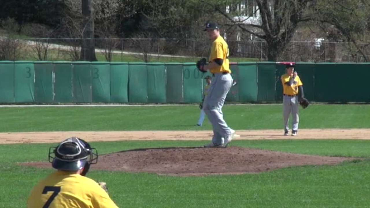 Bucs take high school right-hander Keller with 64th pick