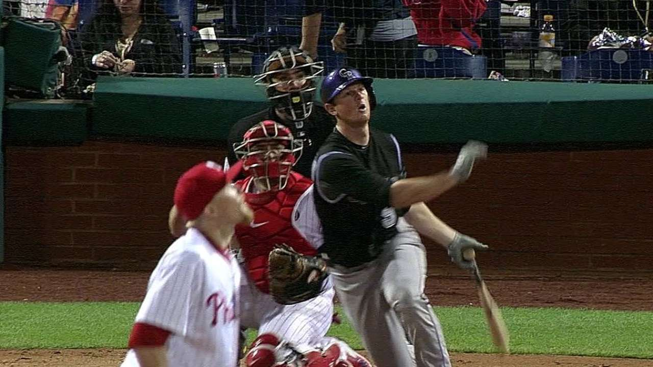 Miscues sting Rockies in walk-off loss to Phils