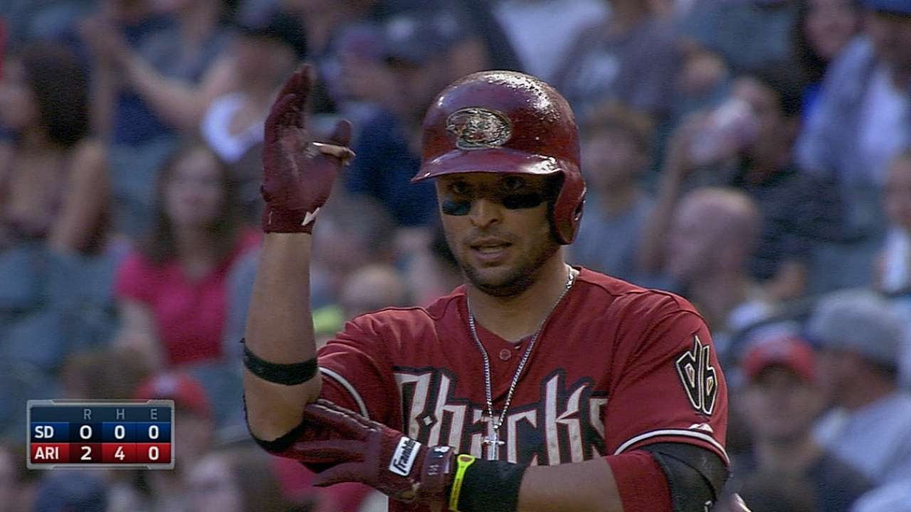 Anderson stays hot behind D-backs' 8-run first