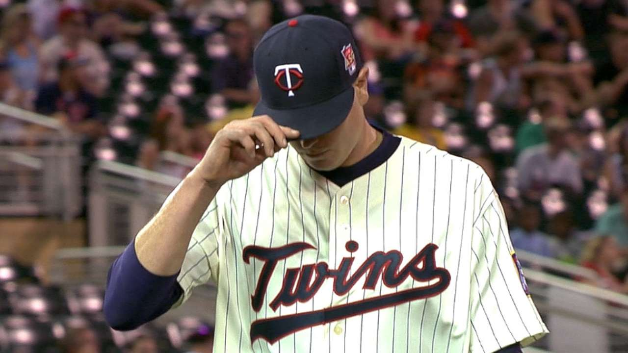 Twins offense comes up empty in loss to Rangers