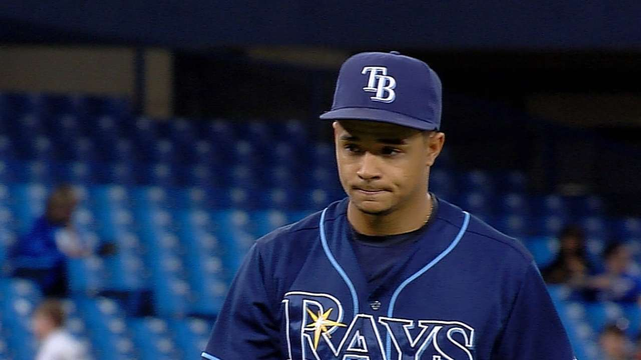 Archer solid, but Rays felled by error in ninth
