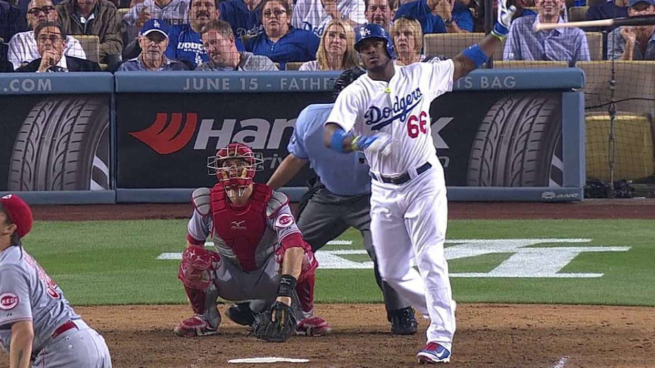 Mattingly touts Puig for Home Run Derby