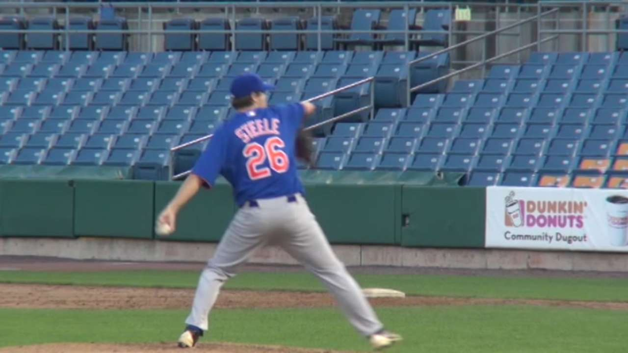 Round 5 delivers Steele's live arm to Cubs