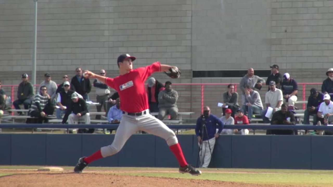 Astros draft prep righty Nix in fifth round