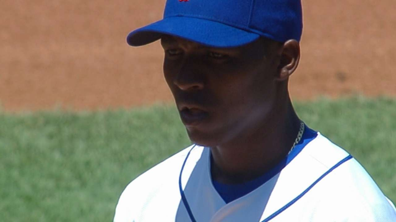 Montero strains left oblique in Triple-A outing