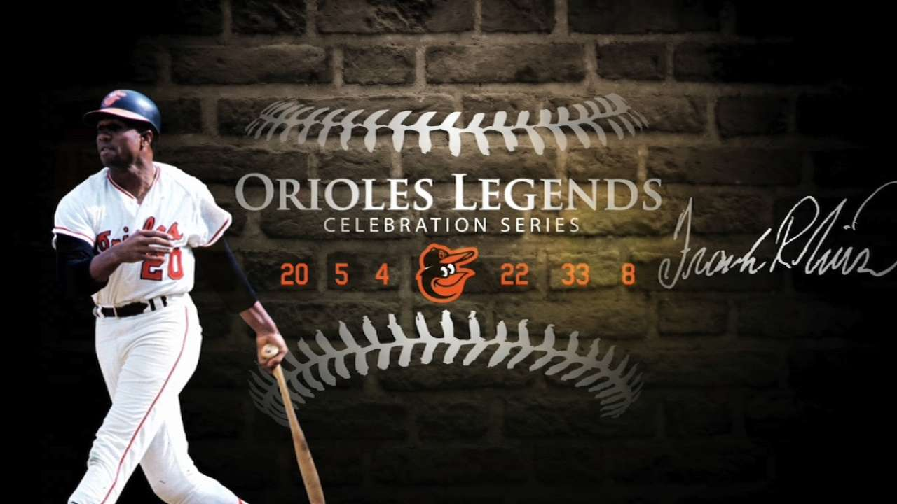 Orioles Legends: Frank Robinson