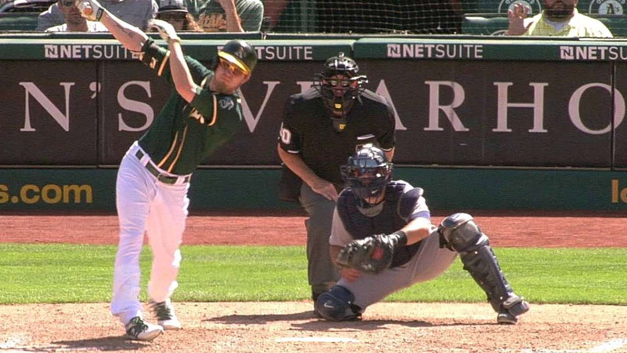 A's activate Reddick, place Blanks on DL