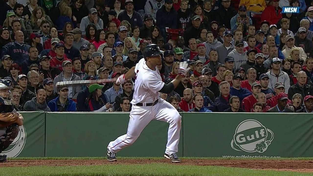 Boston deja tendidos a Bravos con hit de Bogaerts