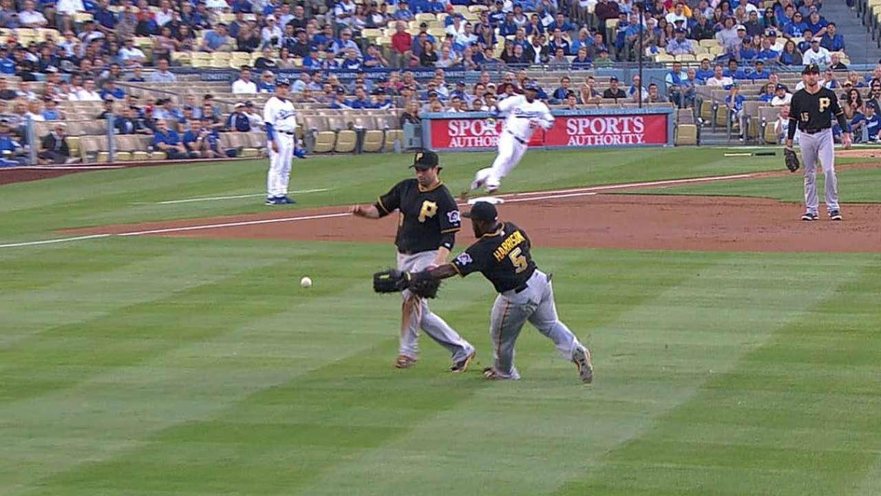 Yasiel Puig destaca pero Dodgers caen con Piratas