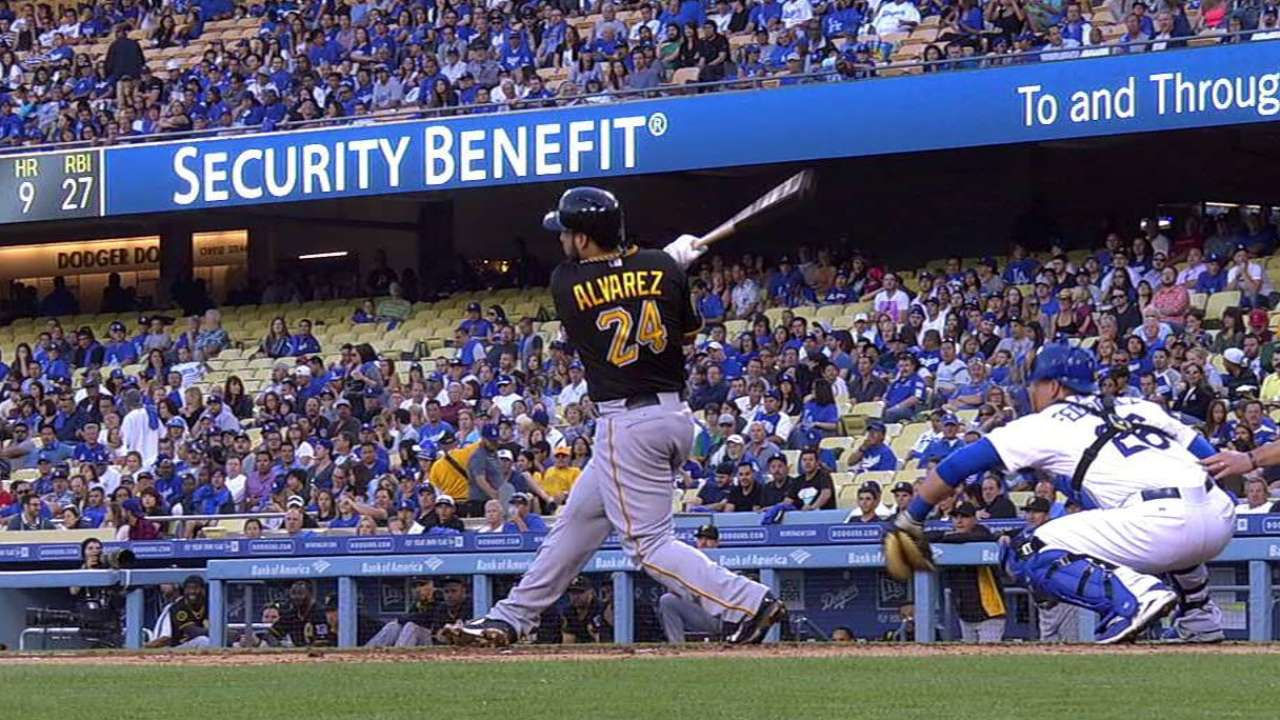 Con rally en la 7ma, Piratas superan a los Dodgers