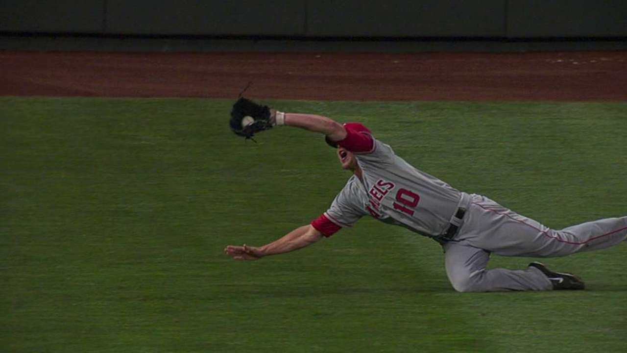 Green not supplanting Freese at third base