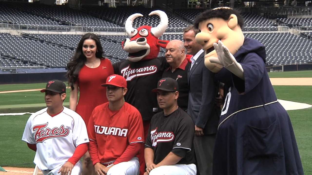 Padres to host Mexican League game in August