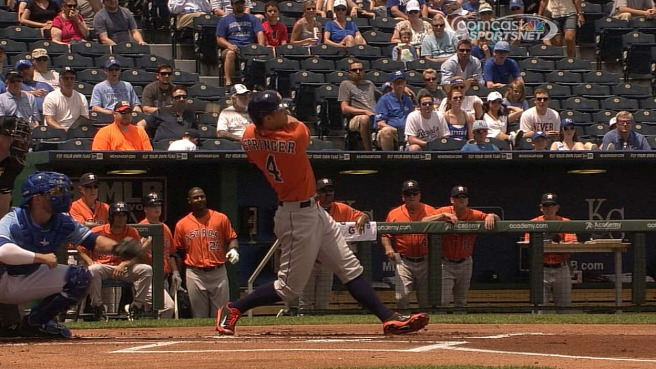 Springer's surge continues, sparking fifth straight win