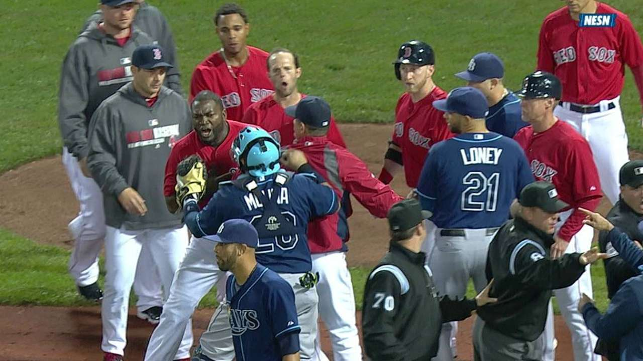 Rays-Red Sox rivalry heating up
