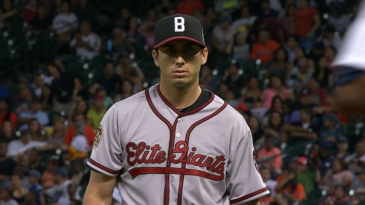 Gonzalez eyeing weekend for return to mound