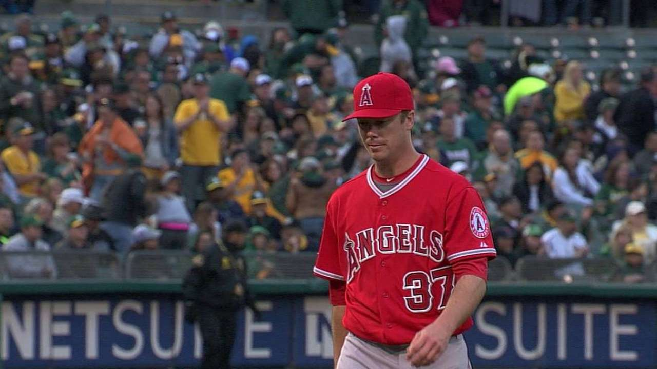 Angels turning to LeBlanc with Richards out
