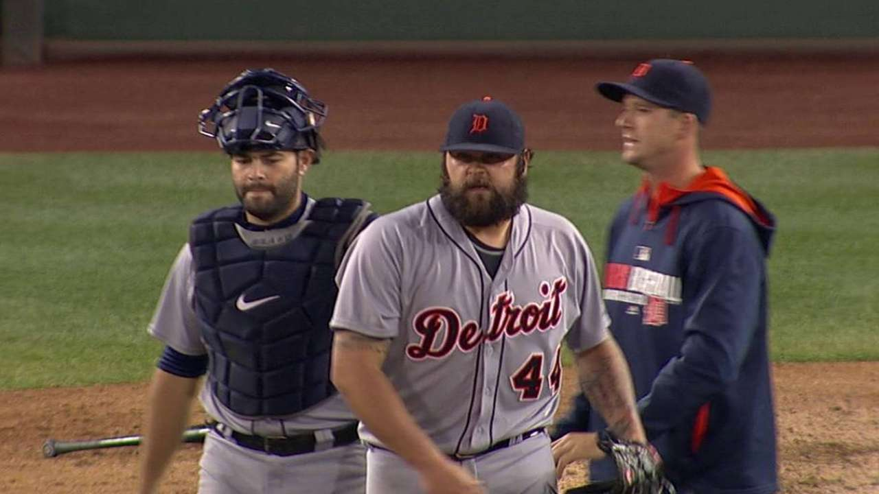 Detroit's bullpen carrying heavy workload