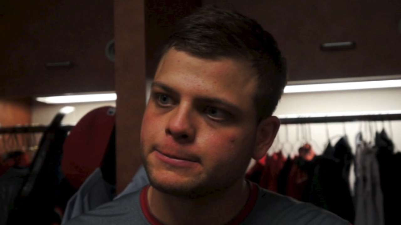 Mesoraco gets a rest after big night