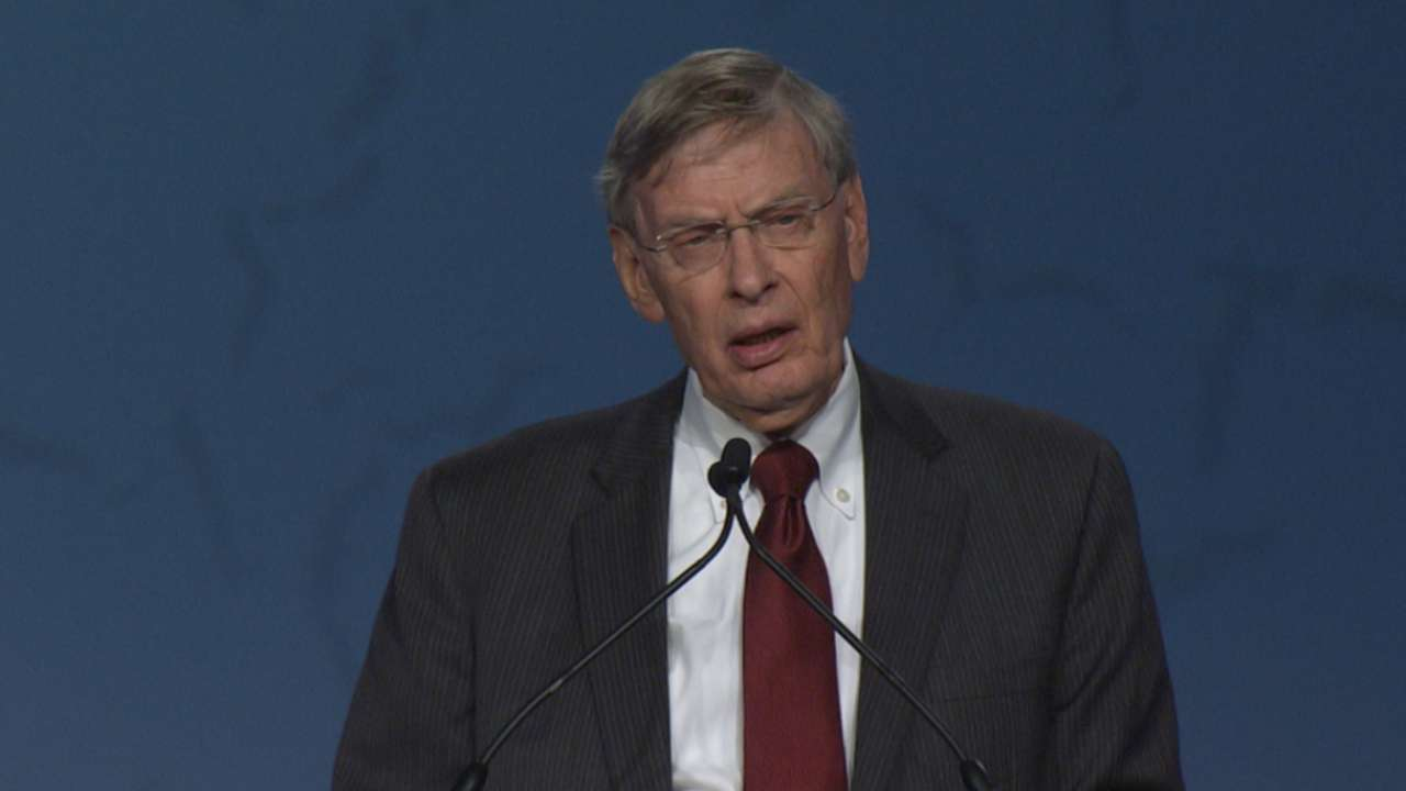 Selig on Civil Rights Game