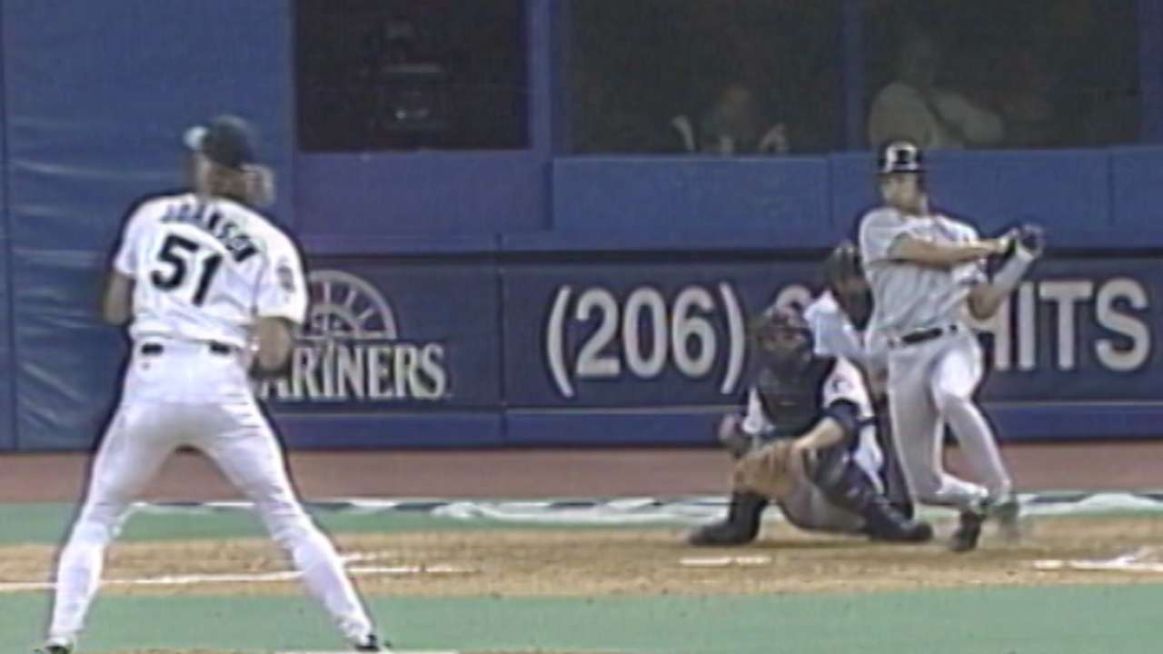 Jeter's first RBI of career