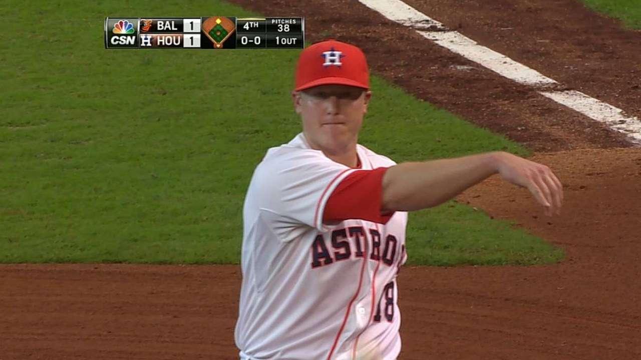 Racha de Astros terminó con derrota vs. Orioles