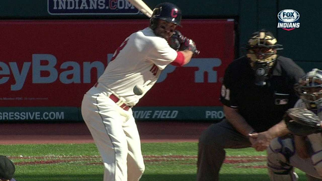 Chisenhall finding role, thriving for Tribe