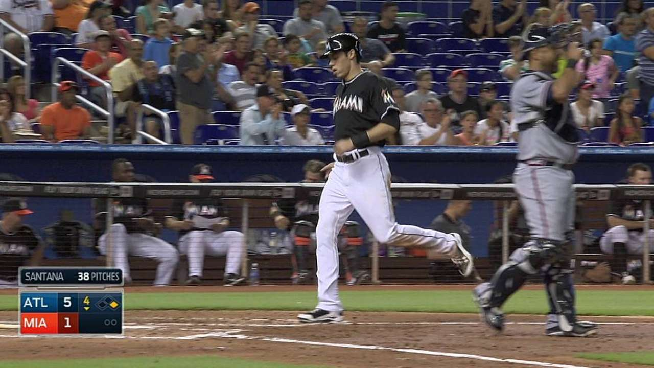 Dietrich returns, hoping to boost Marlins' offense