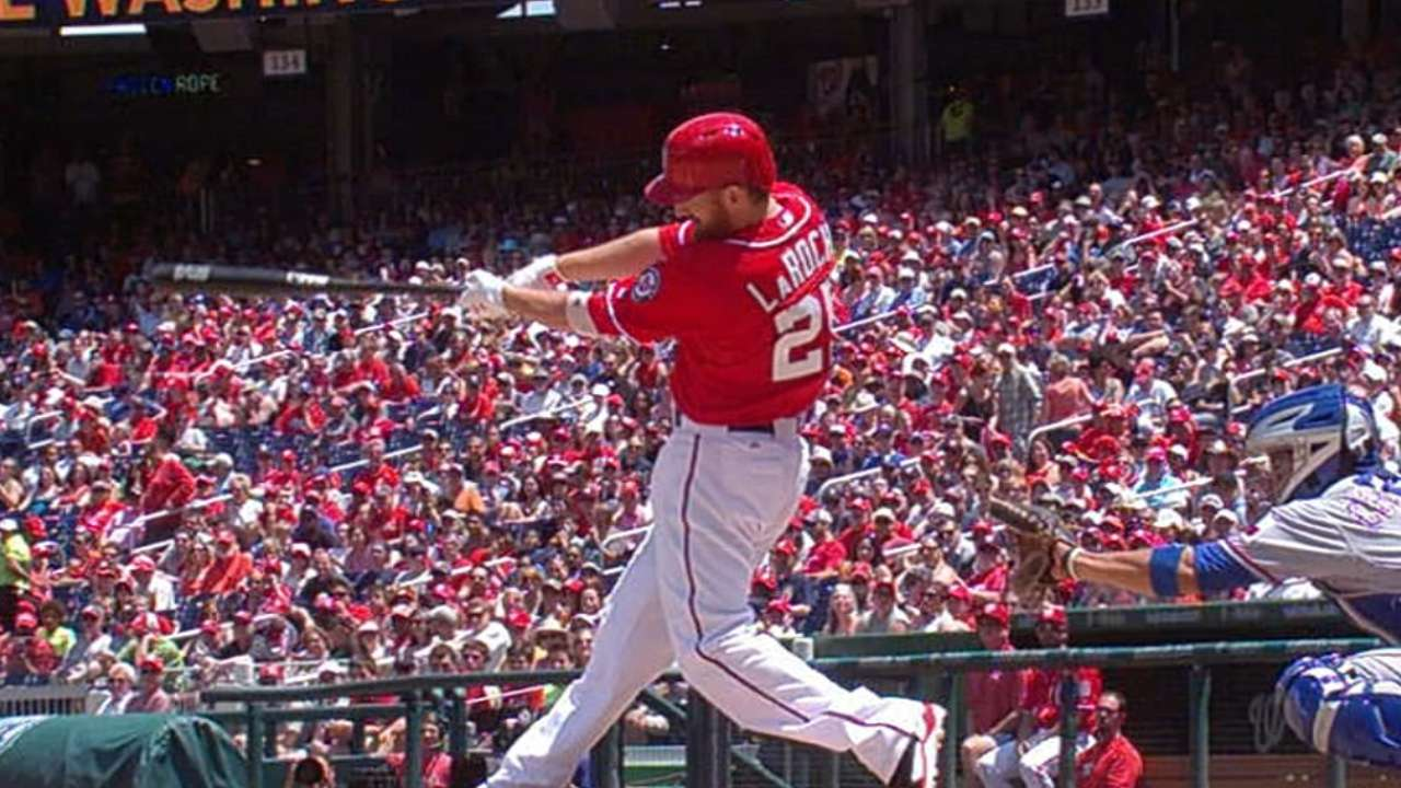 Rendon tallies four hits, leads Nats' home run attack
