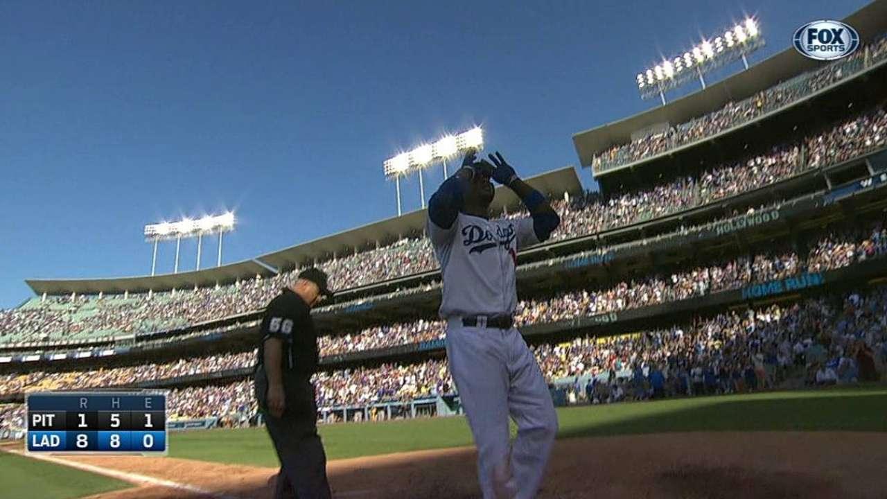 Hanley de 4-4 con dos HR en victoria de Dodgers