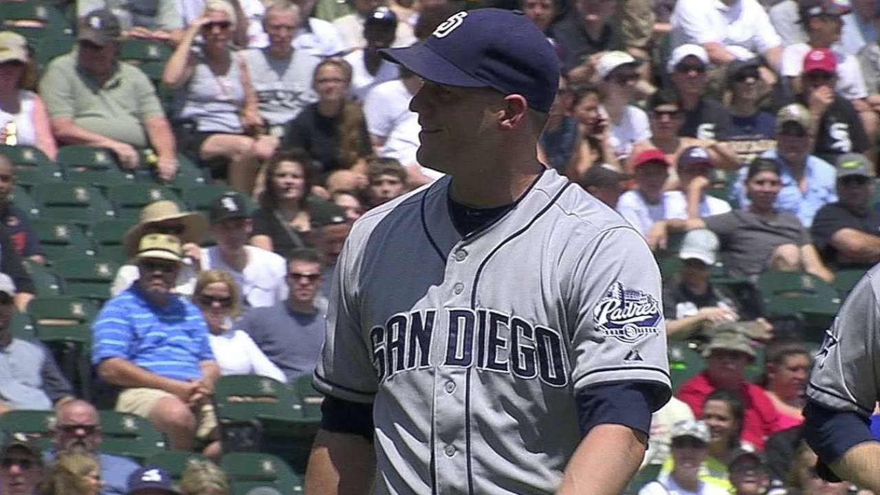 Stults moved up to give Cashner extra rest