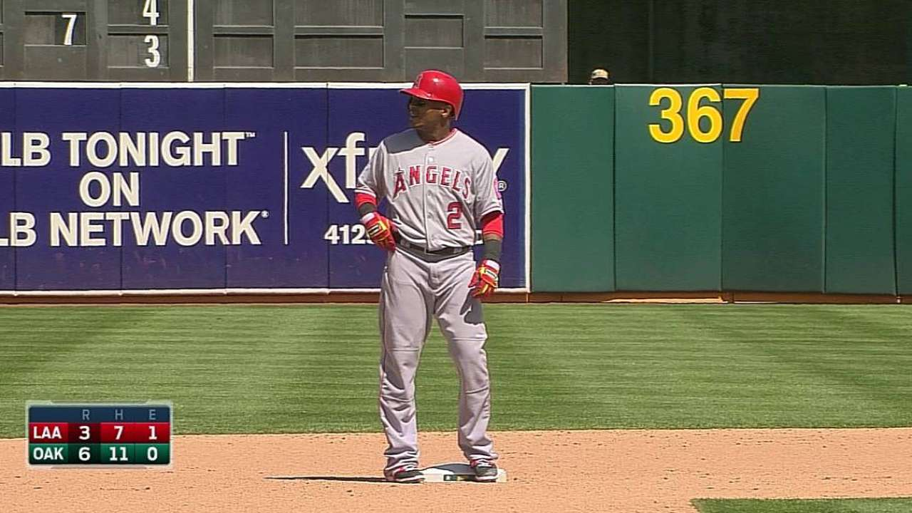 Angels resolute despite sweep in Oakland